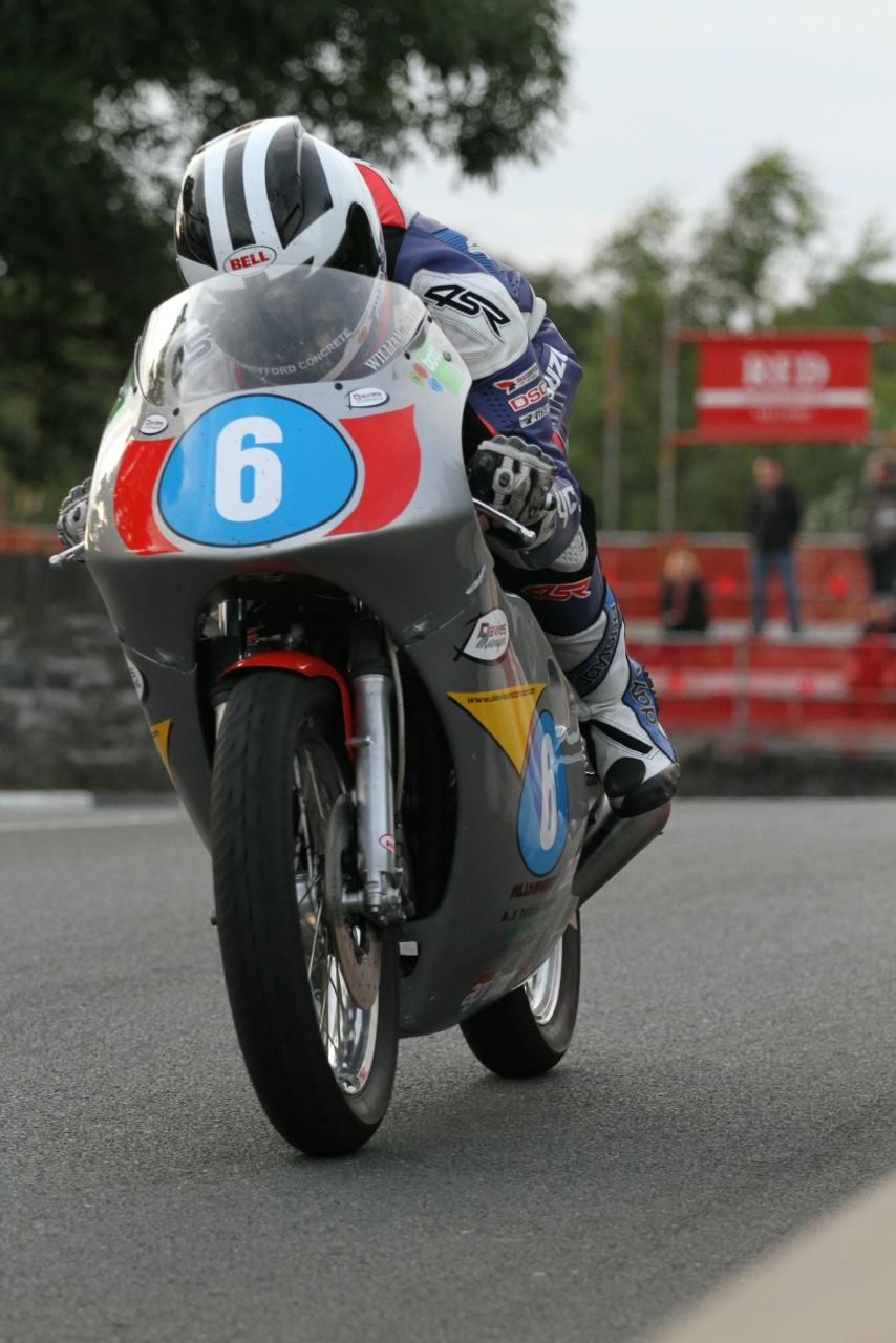 William Dunlop Showing Good Pace On Davies Motorsport 350