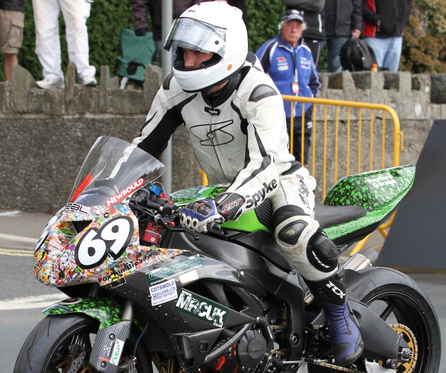 Joe Newbould's Manx Grand Prix Ambitions