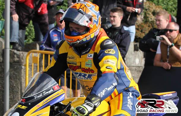 Paul Smyth Yamaha Mounted For 2015 Manx Grand Prix