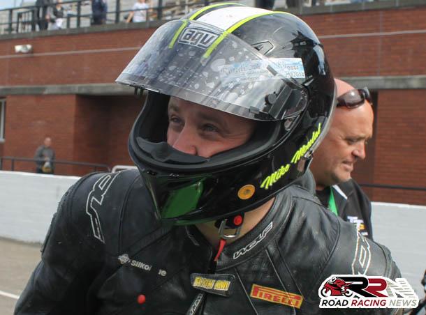 Michael Moulai On Top Class Kawasaki Machinery At 2015 Manx GP