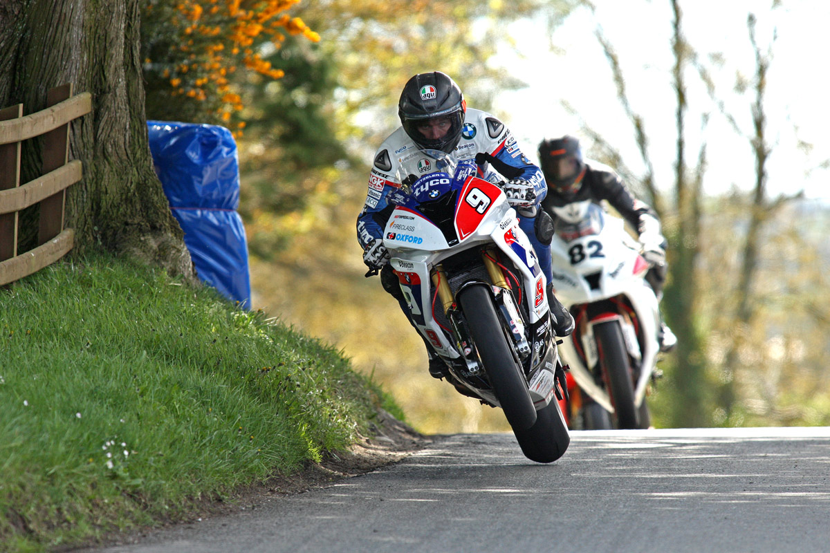 Star Quality From Guy Martin During Cookstown 100