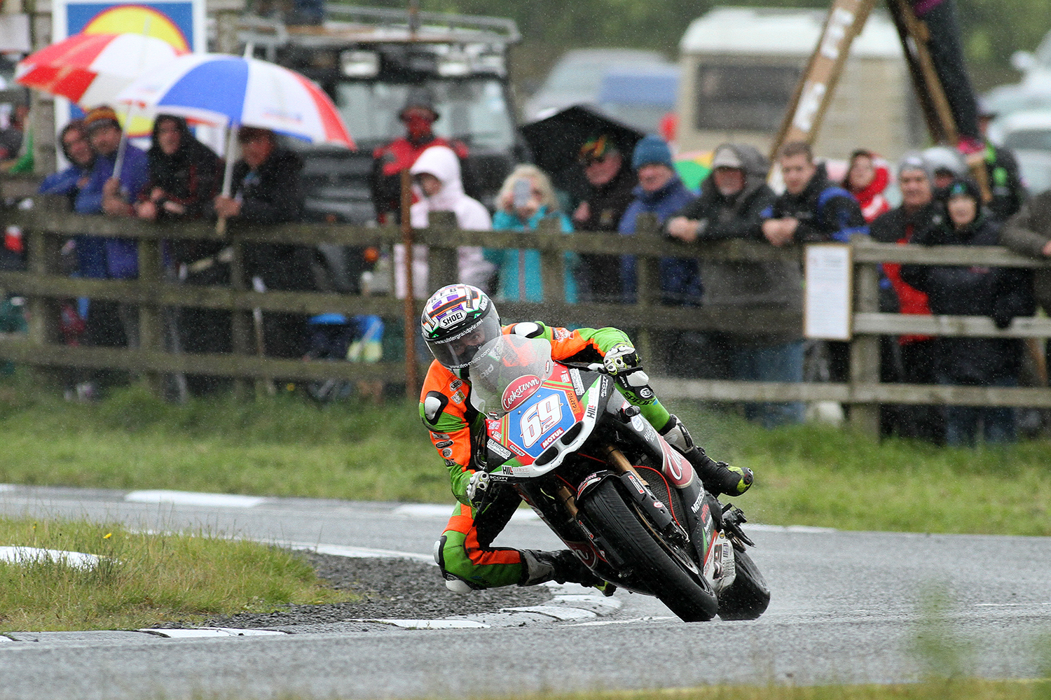 Irwin only half a second away from UGP rostrum