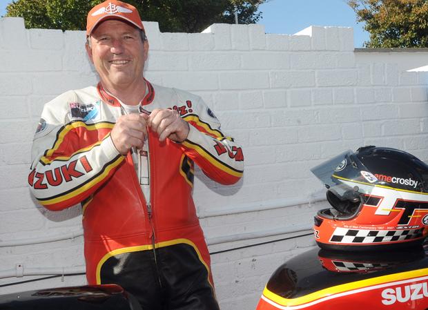 Three Times TT Winner Graeme Crosby To Make Classic TT Return