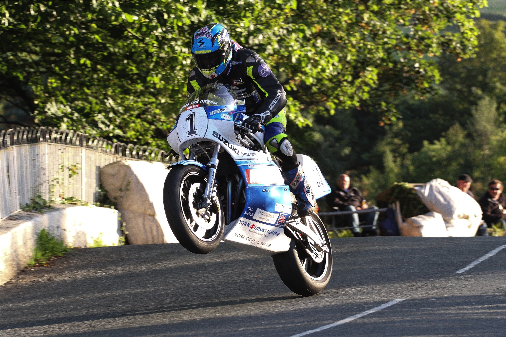 David Johnson Looks Forward To Classic TT Challenge With Team York Suzuki