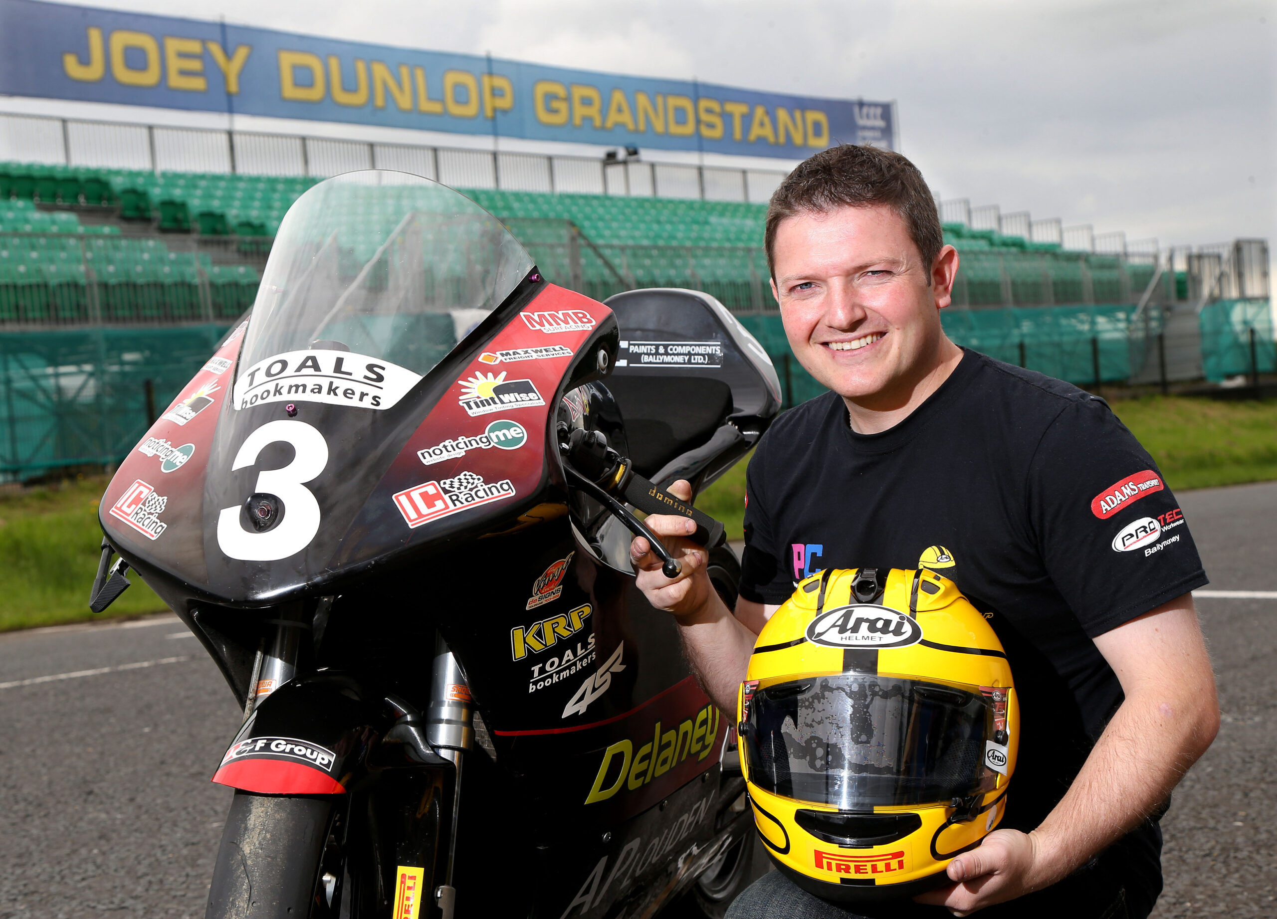Gary Dunlop All Set For Ulster Grand Prix Debut