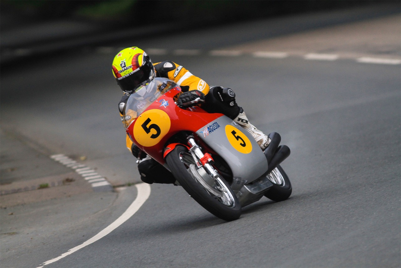 Ian Lougher Switches To A RC181 Honda For The Senior Classic TT