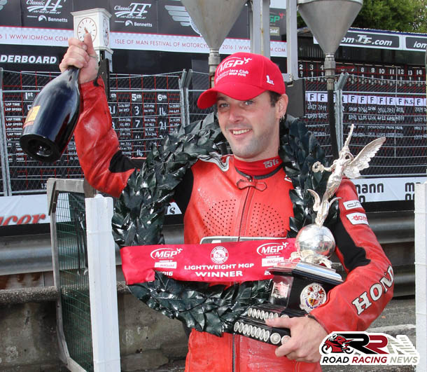 Manx Grand Prix 2016 – Dan Sayle Conquers Lightweight Class