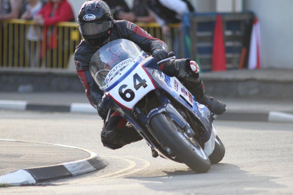 Martin Harrison Secures First Classic TT Bronze Replica Finish