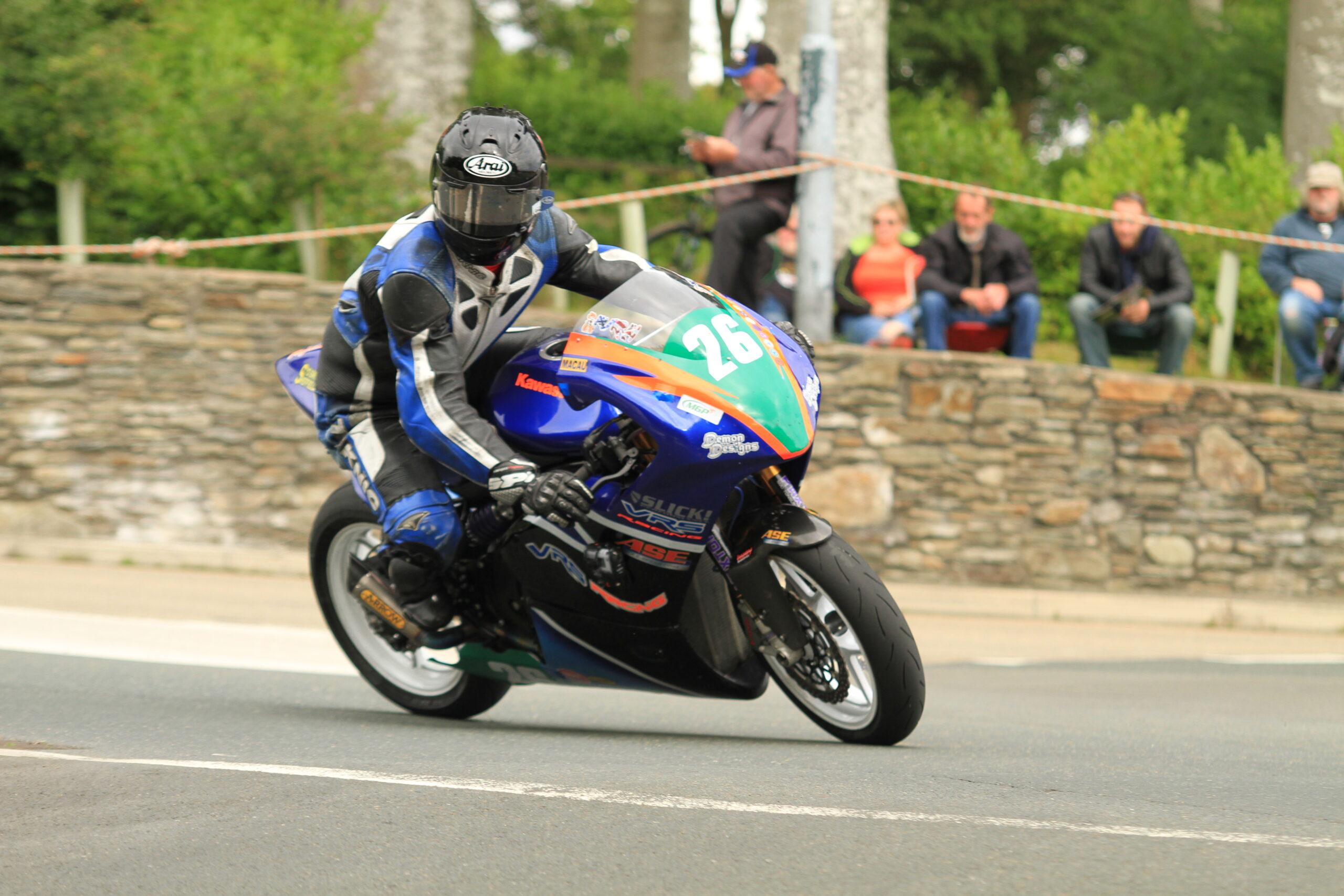 Pete Murray Enjoys Solid Manx With VRS Racing