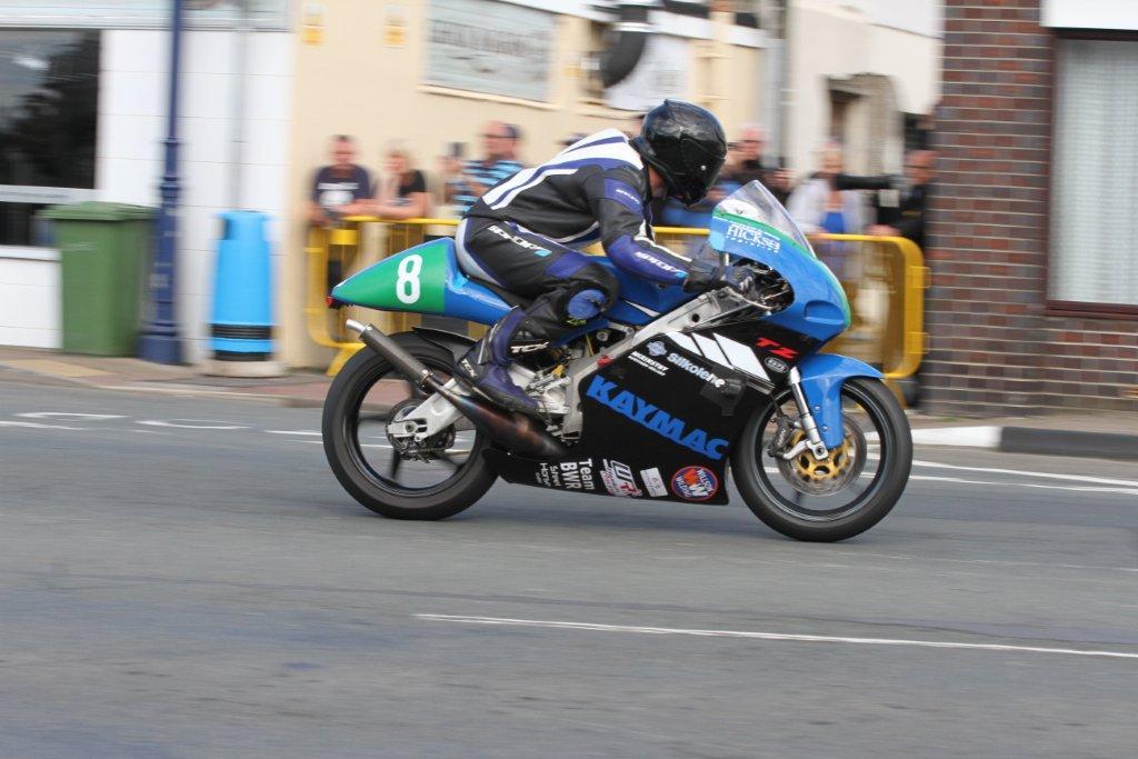 Rhys Hardisty Battles Through The Pain Barrier At The Classic TT/Manx GP