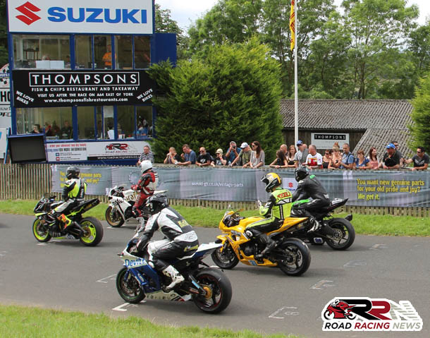 66th Scarborough Gold Cup  – Practice/Race Schedule