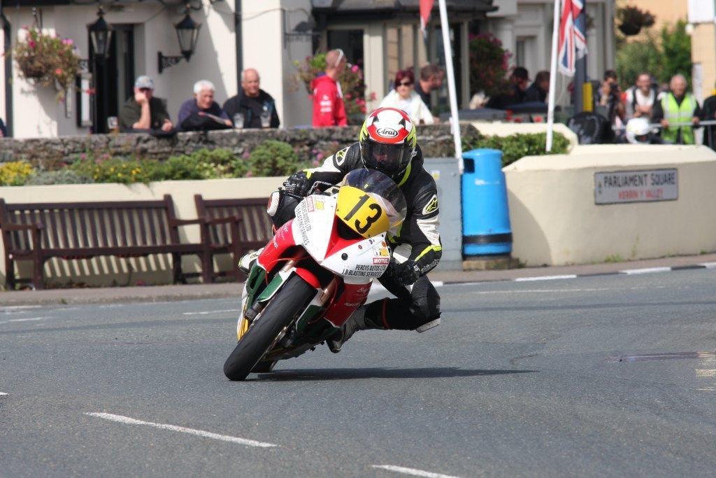 Manx Grand Prix 2016 – Barry Evans Close To Rostrum Pace
