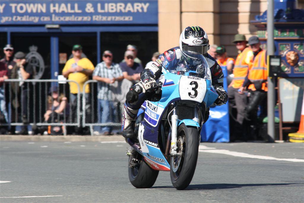 Team Classic Suzuki Delighted With Superbike Classic TT Success