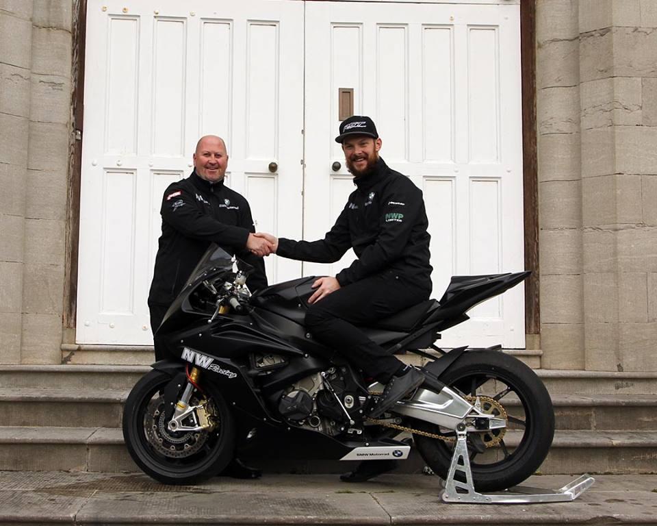 Noel Williamson Racing Sign Alan Bonner