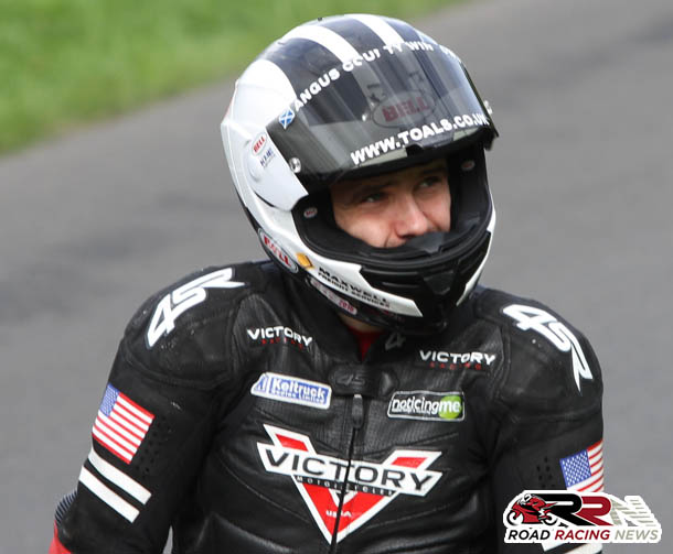 William Dunlop Returns To Two Stroke Machinery At Scarborough