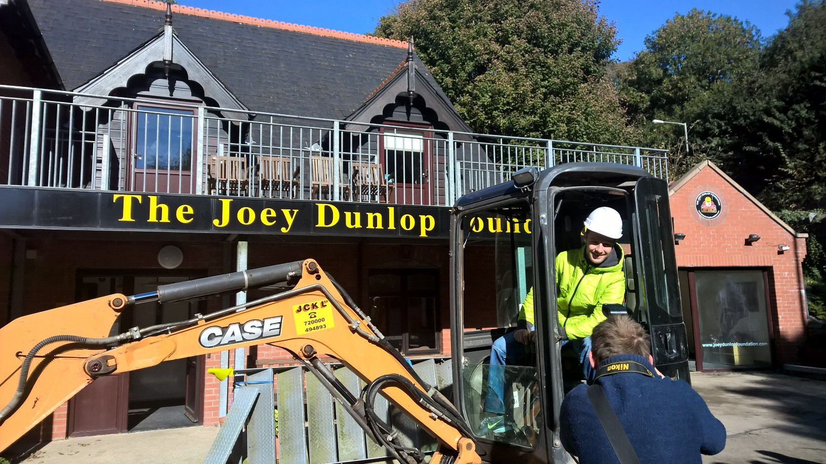 World Superbike Champion Lends Support To Joey Dunlop Foundation Apartments