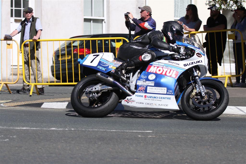 All Johnson Combination For Team York Suzuki's Superbike Classic TT Challenge