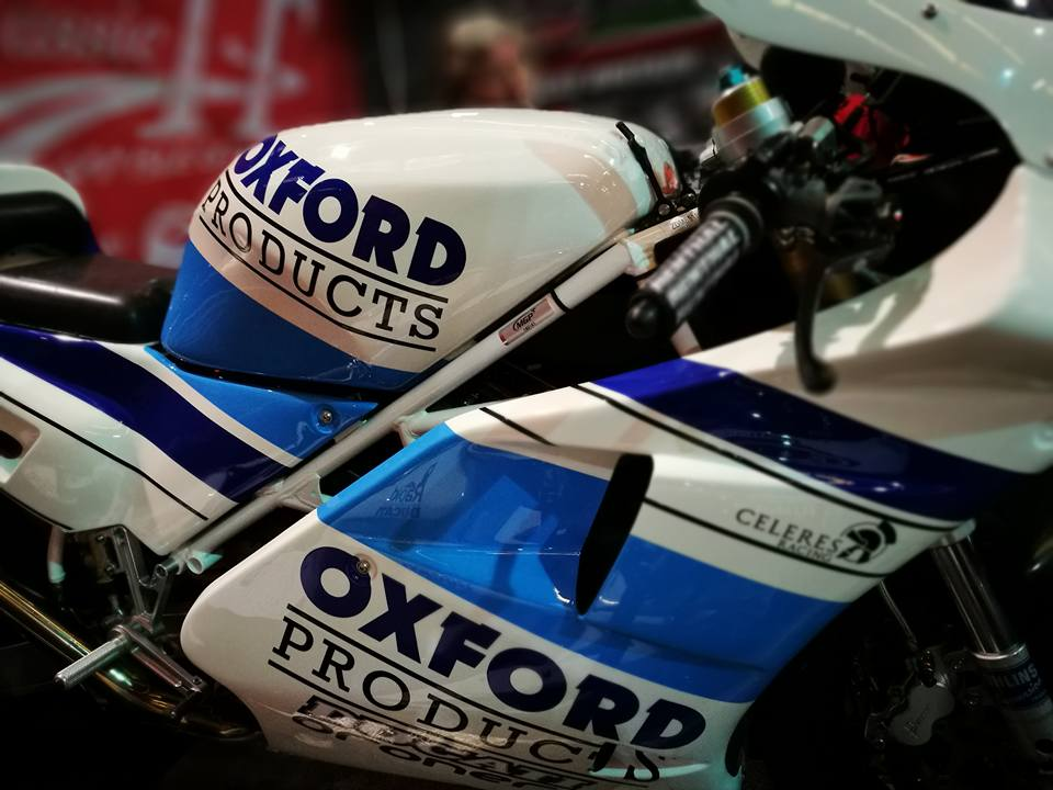 Celeres Racing Ducati To Carry Oxford Products Colour Scheme