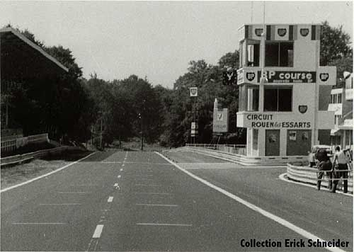 Historic Roads Circuits: Rouen Les Essarts, France