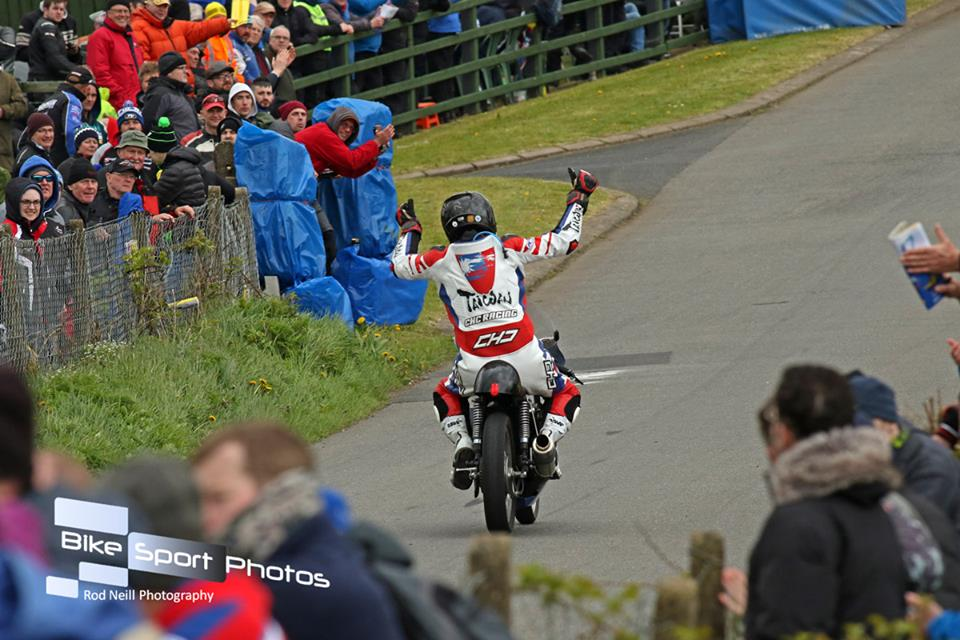 Taiwan's Roger Chen Encapsulates The True Spirit Of Irish Road Racing At Cookstown
