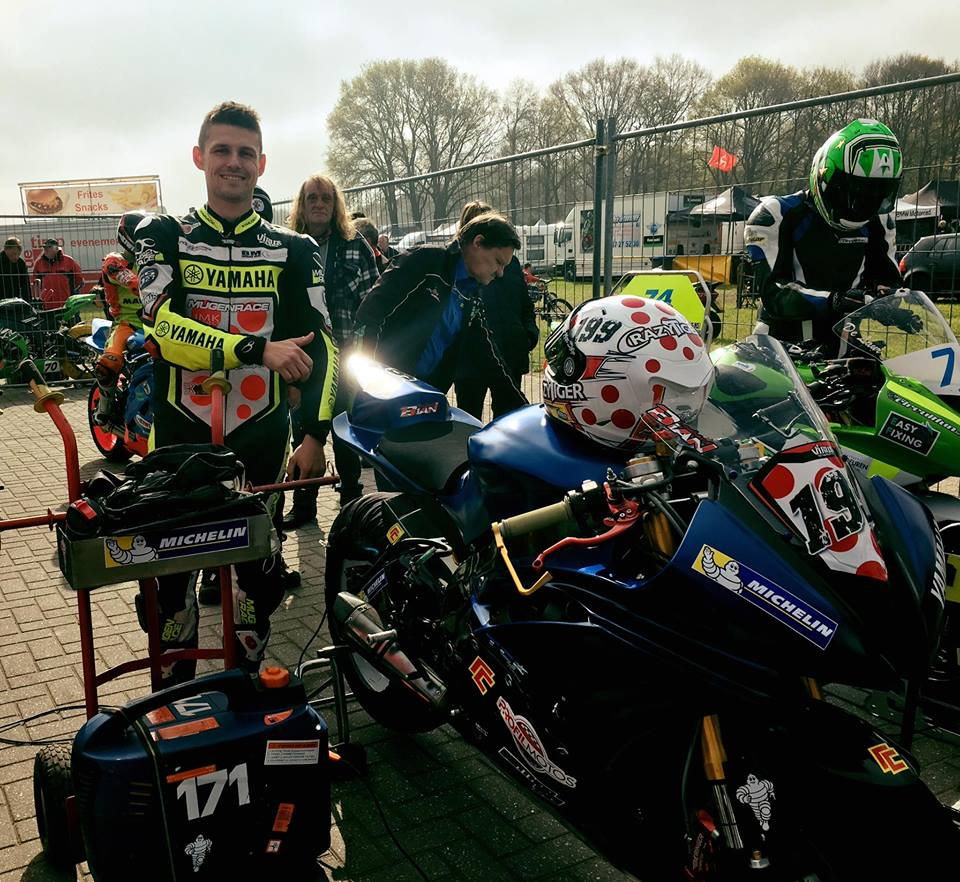 IRRC Hengelo – Pierre Yves Bian Wins Tight Supersport Qualifying Battle
