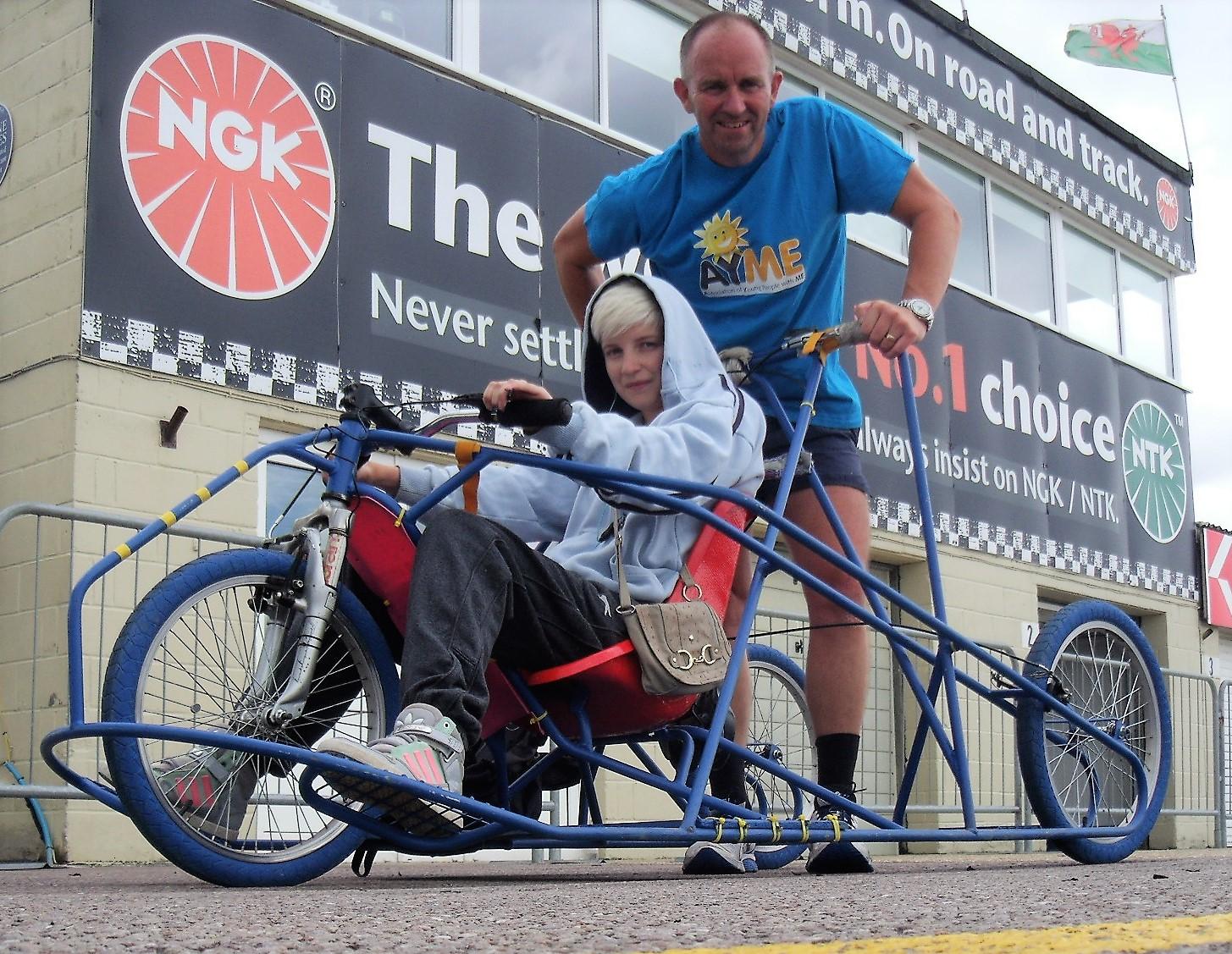 Graham Inchley's Unique Wheelchair Challenge