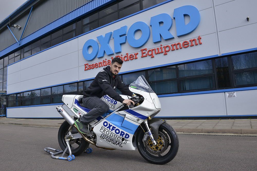 Oxford Team Ducati Strike Classic TT Deal With James Hillier