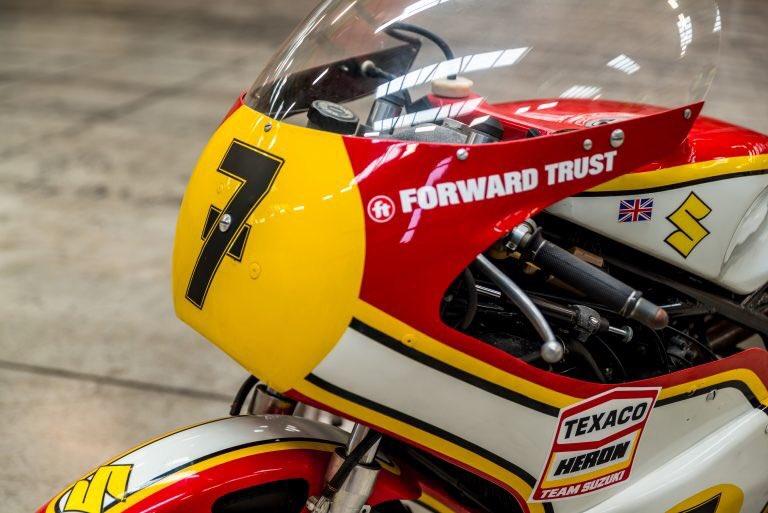 World Championship Winning XR14 Suzuki To Grace Barry Sheene Road Race Festival