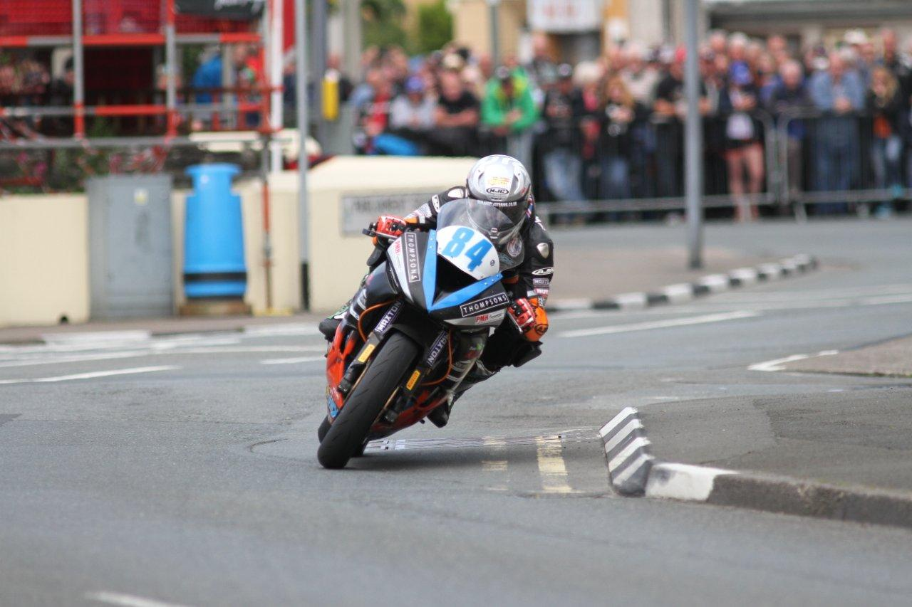 Joe Thompson Ends Maiden Manx Roads Voyage In Style