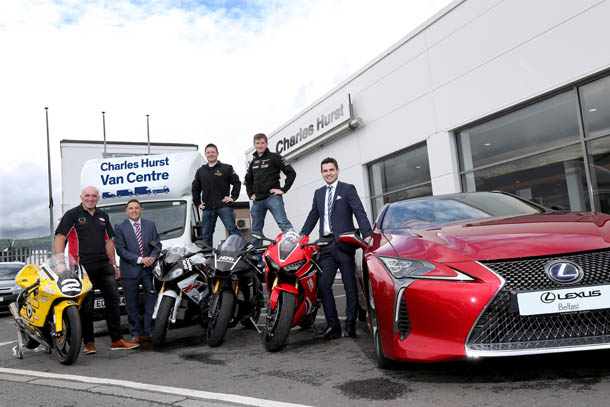 Ulster GP Organisers Announce Charles Hurst Group Backing