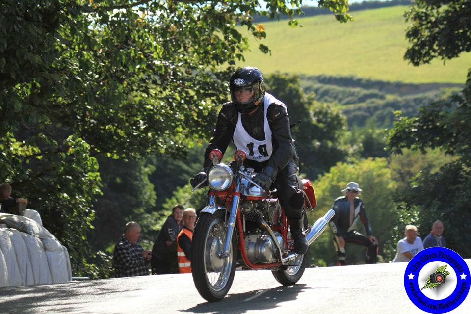 Steam Packet Company Back Classic TT Vintage Parade Lap