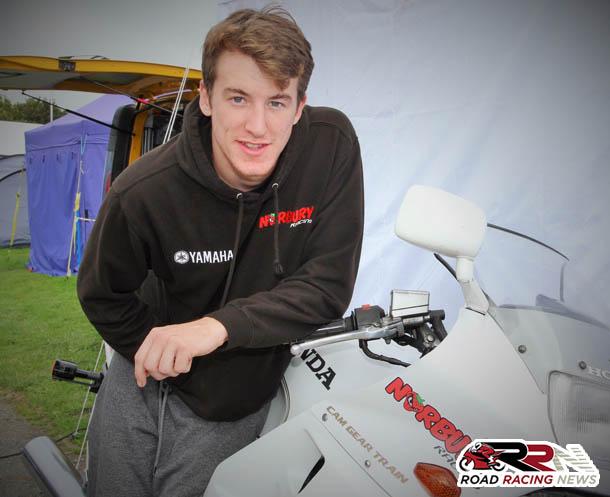 Mike Norbury Enjoying Maiden Manx GP Voyage