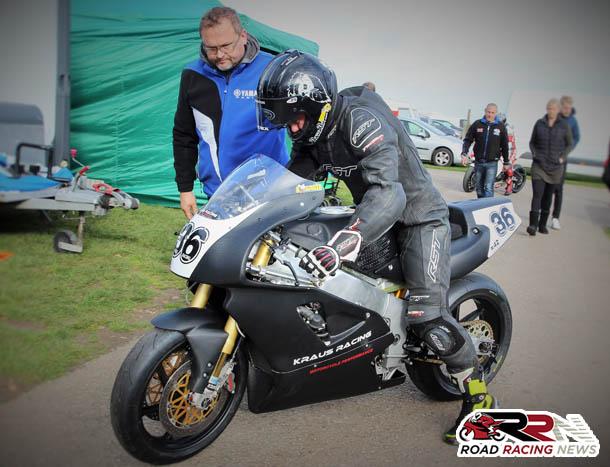 Jamie Coward To Lead Kraus Racing's 2018 Classic TT Assault