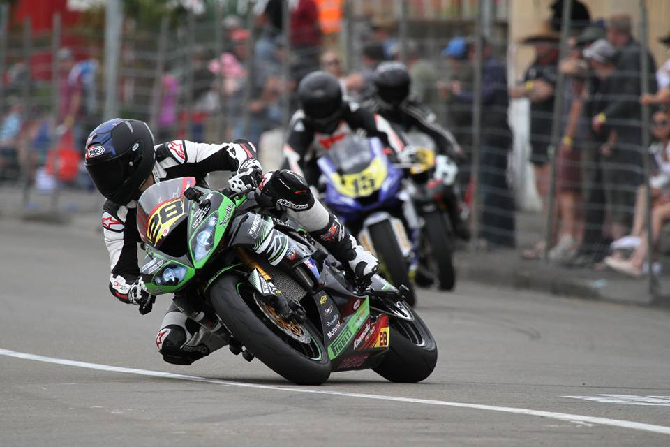 Daytona 200 Competitor Richardson To The Fore At Cemetery Circuit