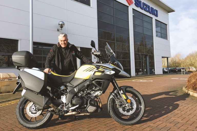 Suzuki's V-Strom 1000 To Have Prominent Presence At Welsh Road Race