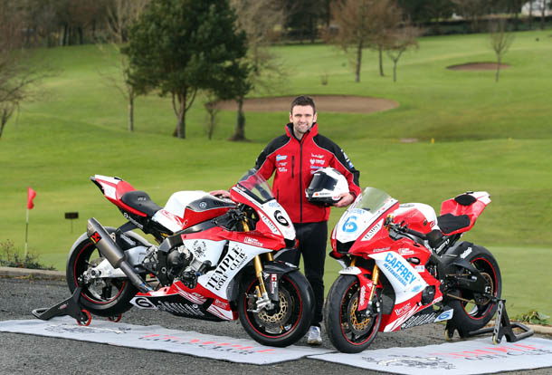 William Dunlop Sticks With Temple Golf Club Yamaha's For 2018 Roads Campaign