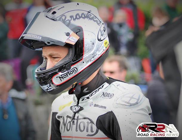 Brookes Retains Works Norton TT Seat