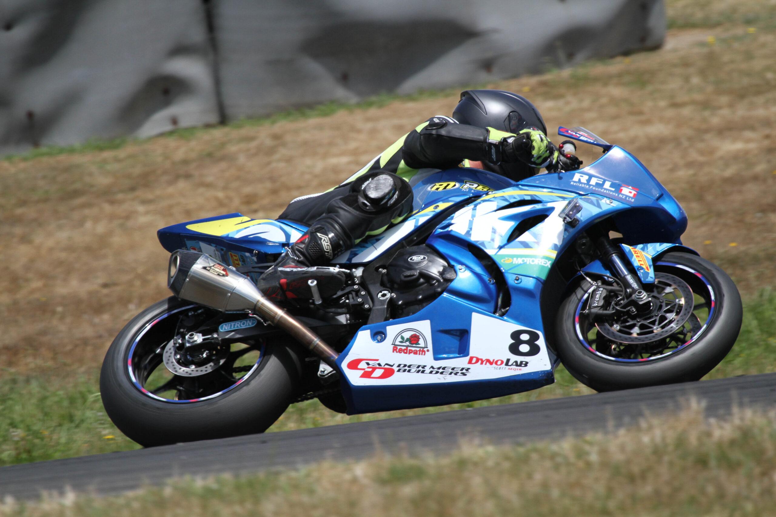 Paeroa: Suzuki New Zealand's Moir Secures Feature Battle Of The Streets Race Crown