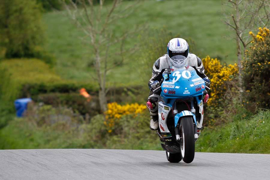 Patch Racing's Graham Ready For KDM Hire Cookstown 100