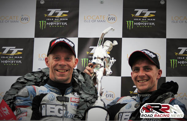 TT 2018: Birchall's Twice Break Existing Lap Record On Route To 7th Sidecar TT Victory