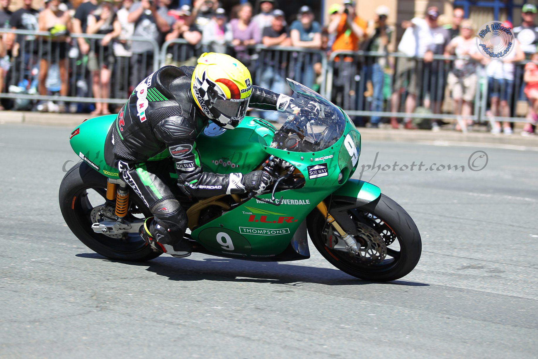 Paton Factor For Dundrod Legend Lougher At MCE Insurance Ulster Grand Prix