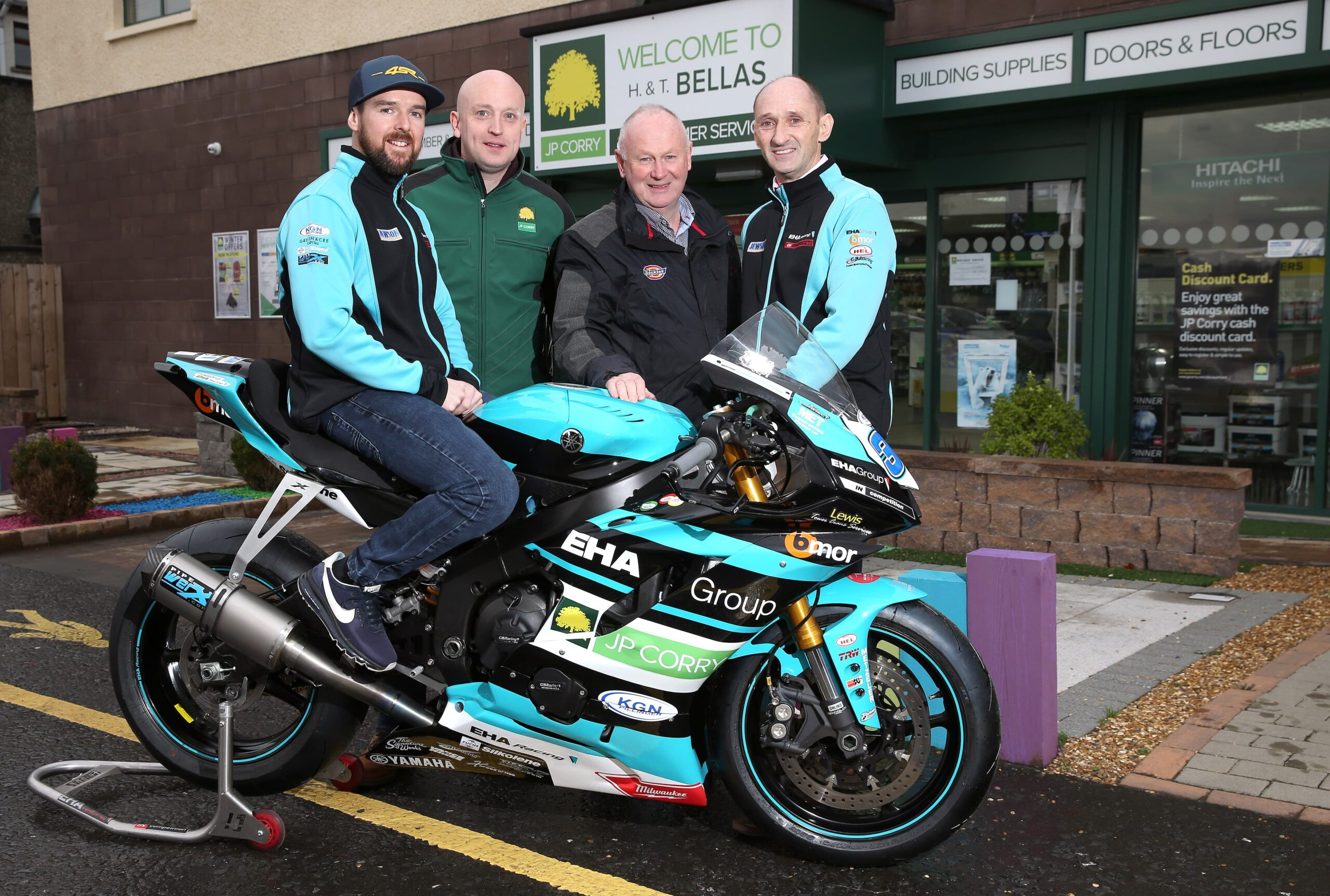 EHA Racing Looking Forward To Second NW200 Voyage With Triangle Wizard Seeley
