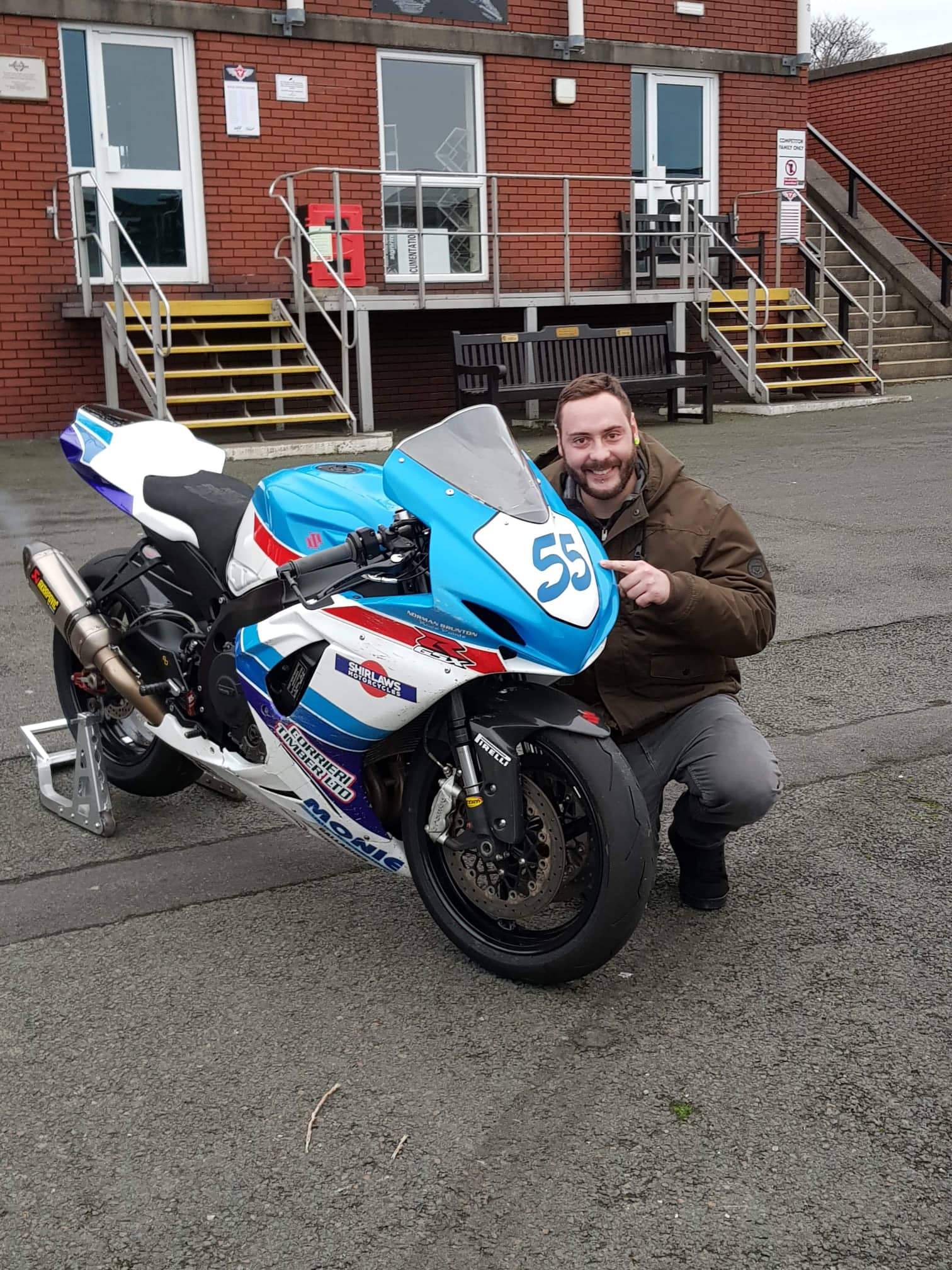 Popular IRRC Racer Datzer Excited About TT 2019 Quest After First Mountain Course Experience
