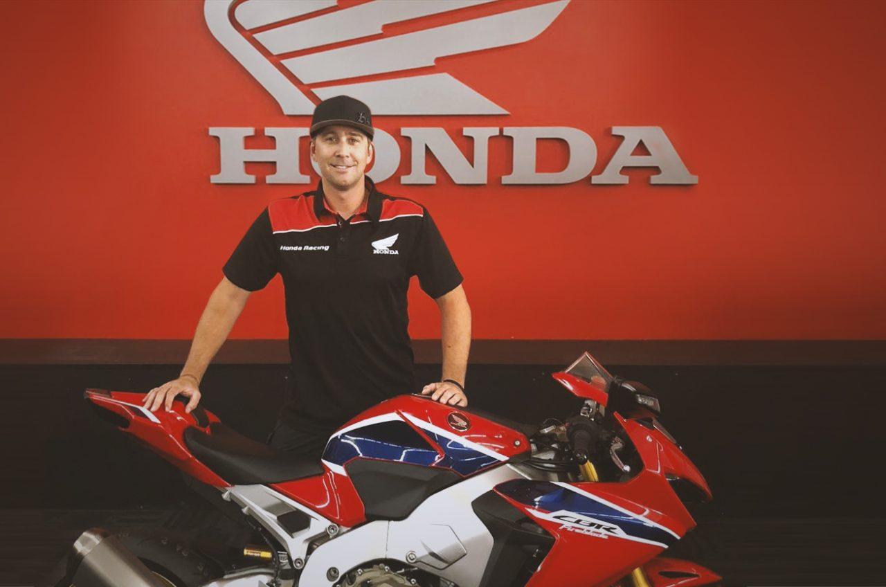 Australian Roads Giant Johnson Signs For Honda