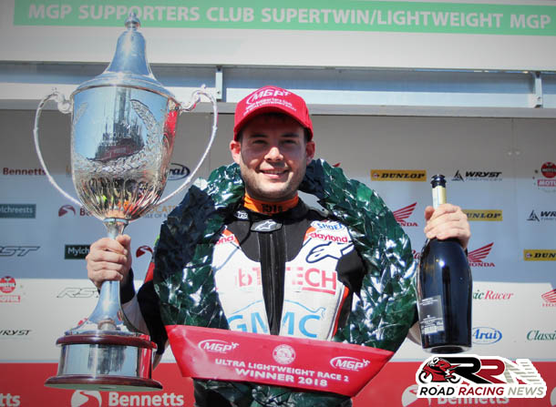 Reigning Ultra Lightweight Class Champion Tweed Confirms 2019 Manx GP Voyage