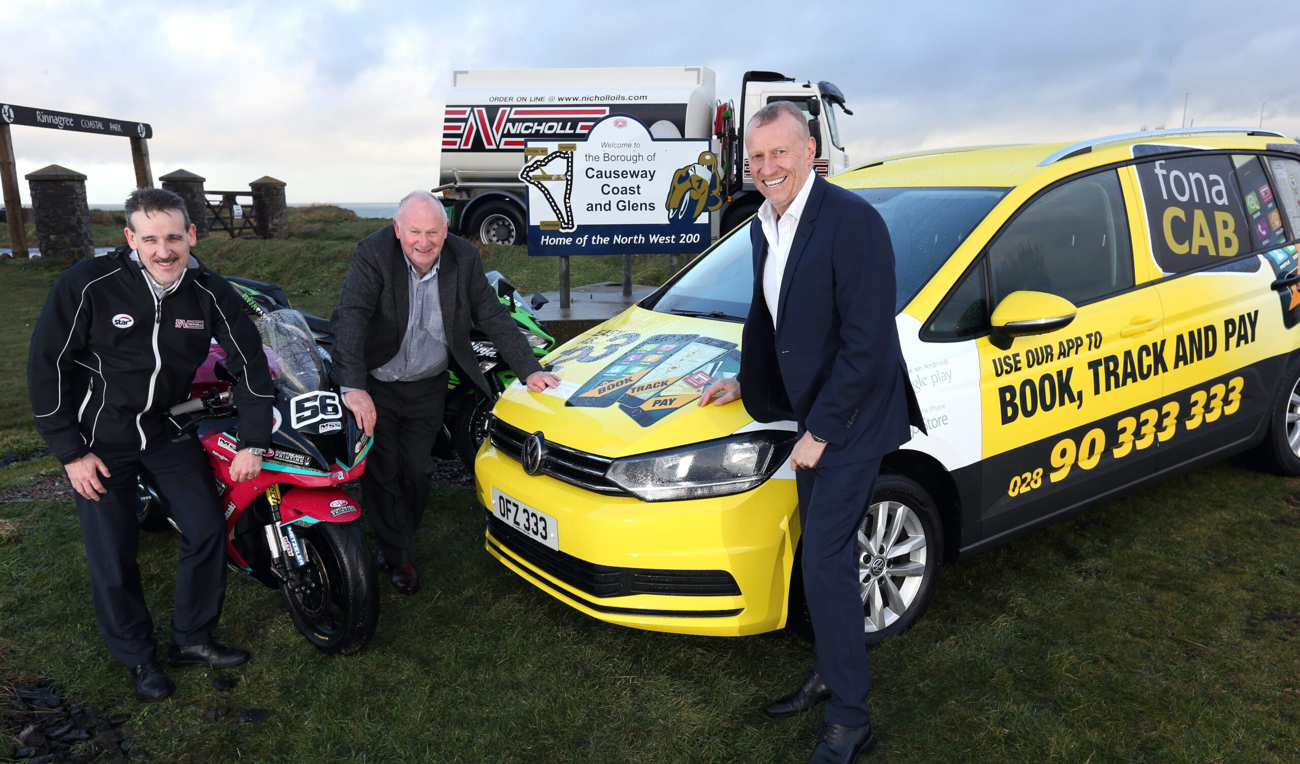 FonaCAB/Nicholl Oils Unveiled As New North West 200 Title Sponsors