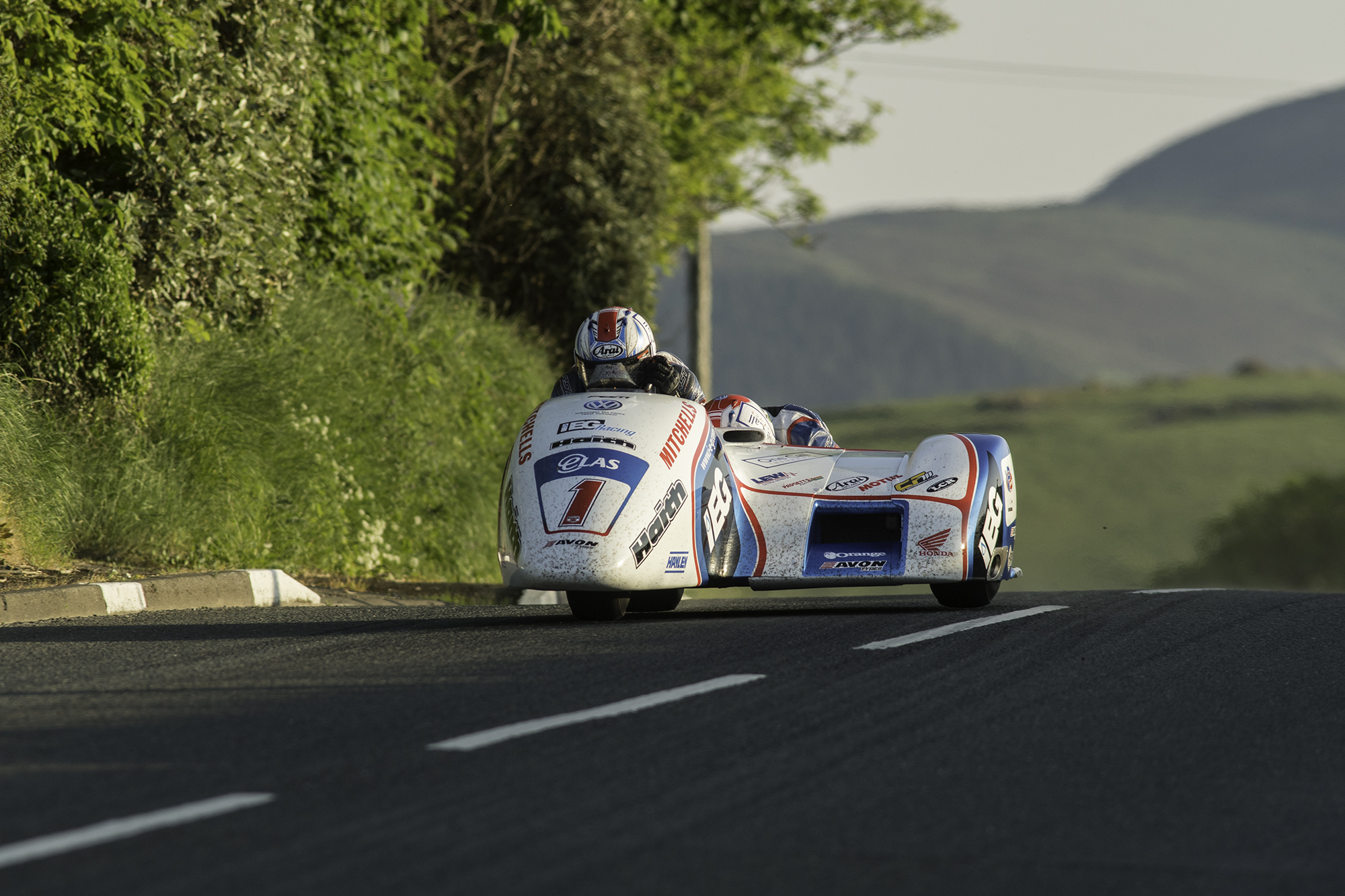 Birchall's To Hold Number 1 Plate In Locate.im Sidecar Encounters