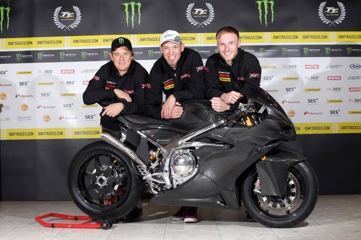 Hickman, Todd Join McGuinness As Part Of Norton's All Star Lightweight TT Challenge