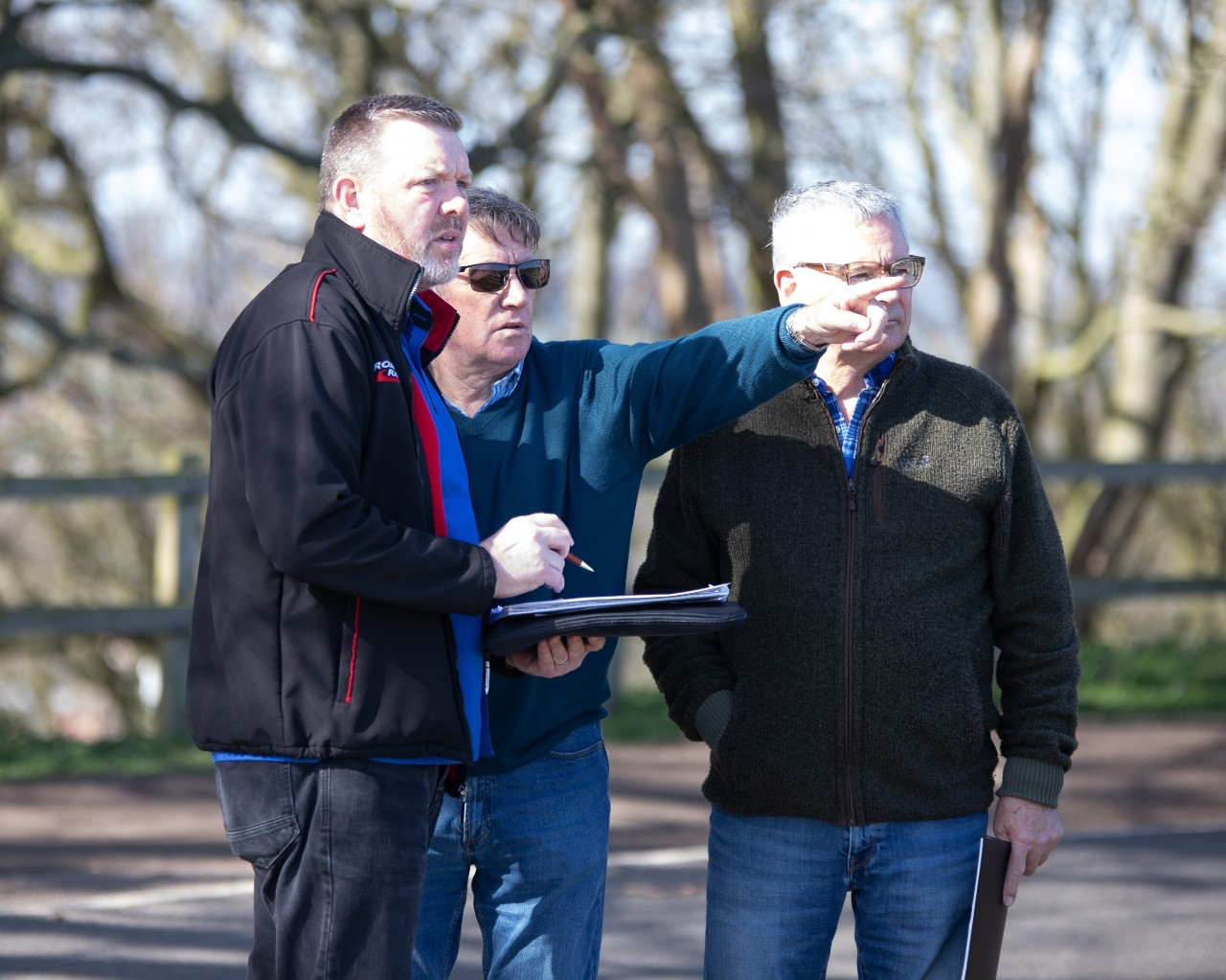 New Oliver's Mount Events Organising Team Take Positives From ACU Officials Visit