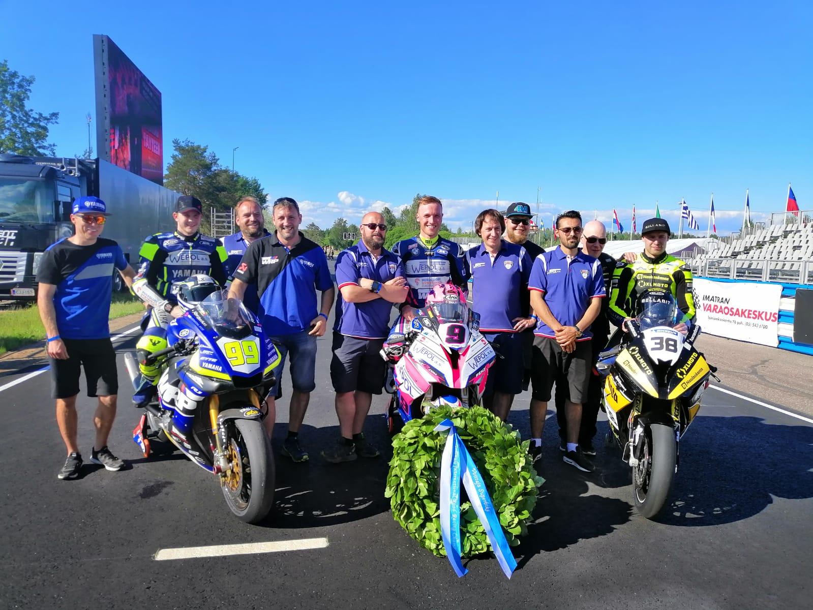 IRRC Superbike Series Leader Todd Reflects On Flawless Imatranajo Debut